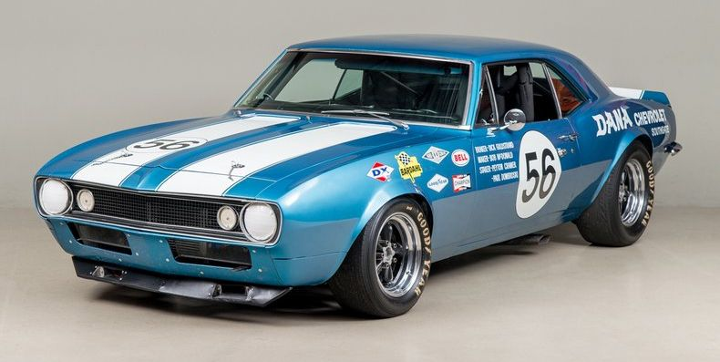 Classic Muscle Cars For Sale >> 1967 Camaro Trans Am Race Car for Sale on Classic Driver