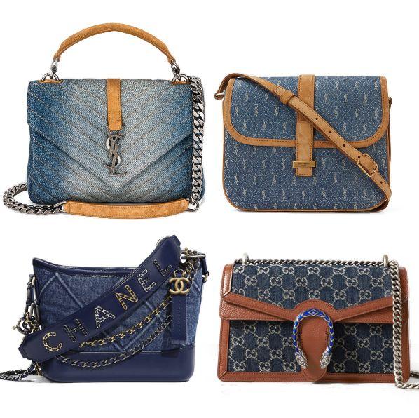 30款「丹寧藍」精品小包入手推薦!chanel流浪包、gucci等牛仔包款超值得投資