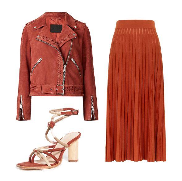 顯白「磚紅色」穿搭單品推薦!質感洋裝、百搭上衣、實穿鞋款等15樣春夏購物清單超生火