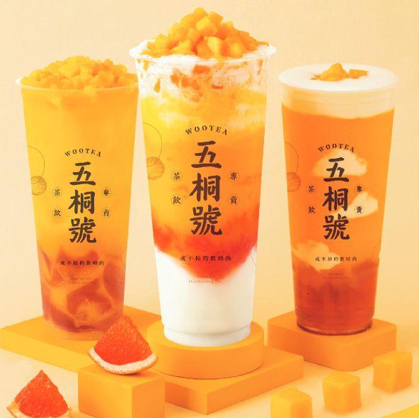 夏日芒果系消暑飲品登場!五桐號「最完美楊枝甘露」百分百鮮切芒果夏天必喝