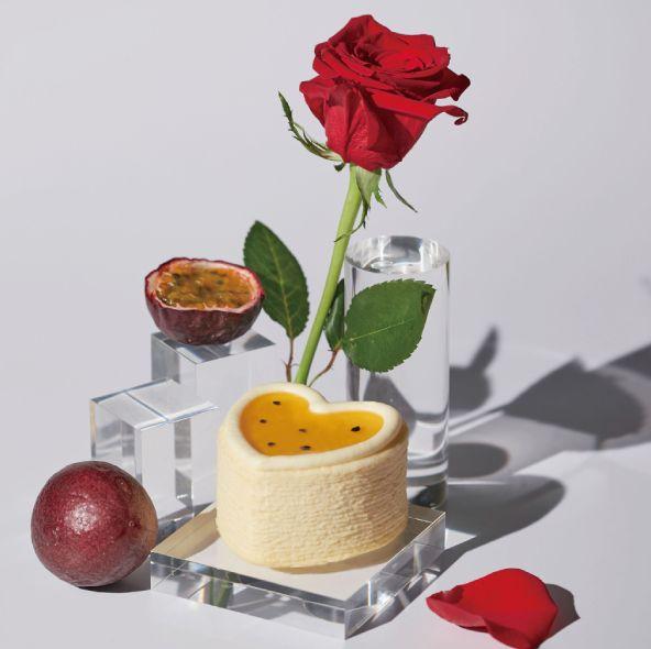 lady m情人節「七夕限定組合」限時兩天登場!心型百香果千層、巧克力千層蛋糕打造完美情人節禮物