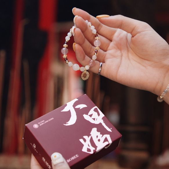 求財運、好人緣、防小人都有媽祖加持!bonnyread x 大甲鎮瀾宮推出最時髦開運飾品