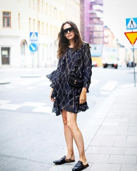 穿搭筆記, Caroline Blomst, 街拍, 洋裝, 歐美, 時髦, 裙子, 連身裙