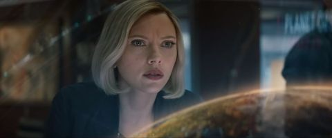Face, Nose, Blond, Eye, Mouth, Space, Smile, Screenshot, Portrait, Fictional character,