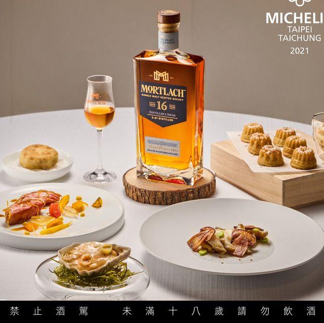 慕赫攜手態芮推出限量「摘星套餐」!主廚chef kai拆解慕赫16年單一麥芽威士忌打造獨家亮點菜色