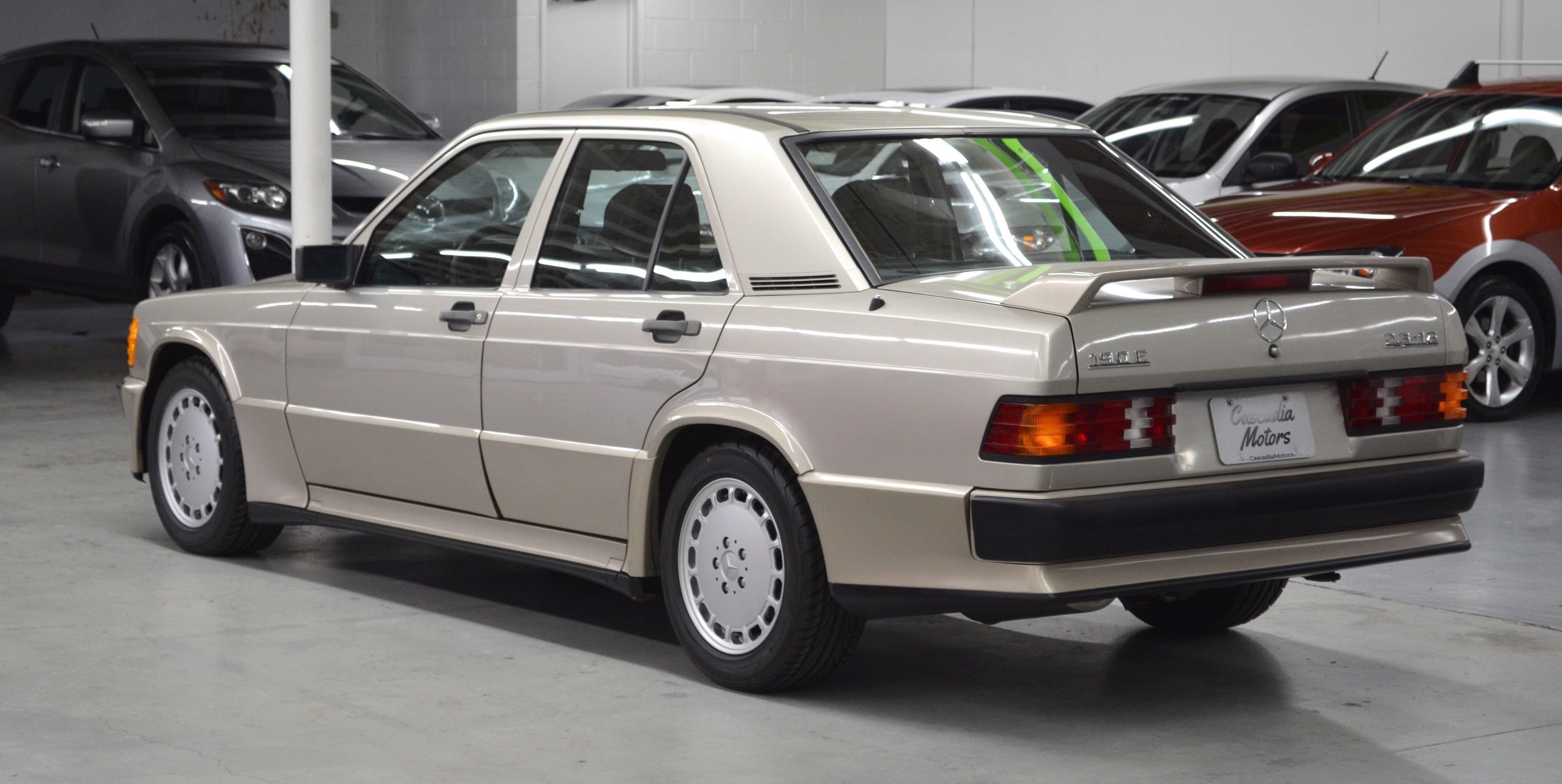 Make This Low-Mile Mercedes 190E Cosworth Your Practical Canyon-Carver