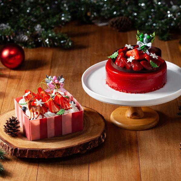 2020聖誕節限定甜點推薦!國賓大飯店聖誕紅酒草莓慕斯蛋糕、采采食茶麋鹿馬卡龍讓人捨不得下手