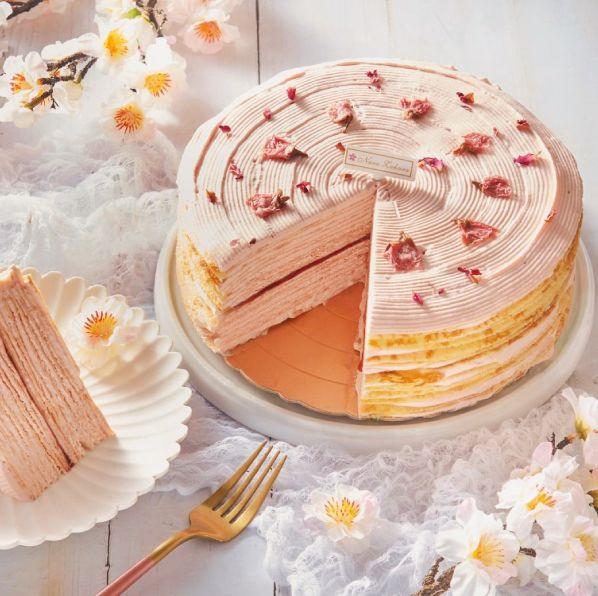2021母親節蛋糕精選!櫻花千層蛋糕、玫瑰荔枝重乳酪,還有健康養生系列寵愛媽媽身體及味蕾