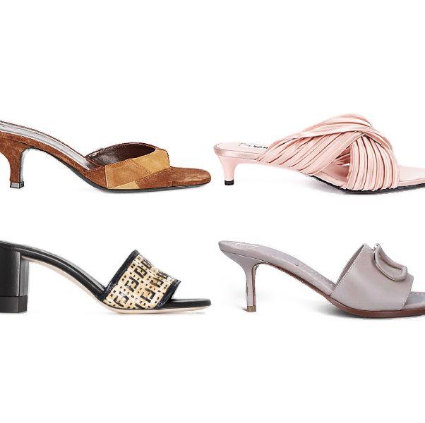 精選15款「低跟露趾拖鞋」推薦!涼感舒適又不失正式,微解封就踩這雙分流上班