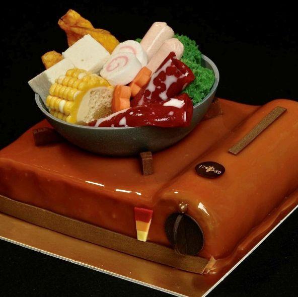 2021父親節蛋糕推薦!超狂「火鍋」造型、茶香系列、冰淇淋、巧克力蛋糕等多樣款式表達對老爸的愛