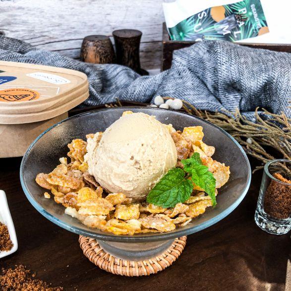 甜點控注意!sugarbistro推出「棕櫚糖冰淇淋」,一秒置身柬埔寨五星度假飯店