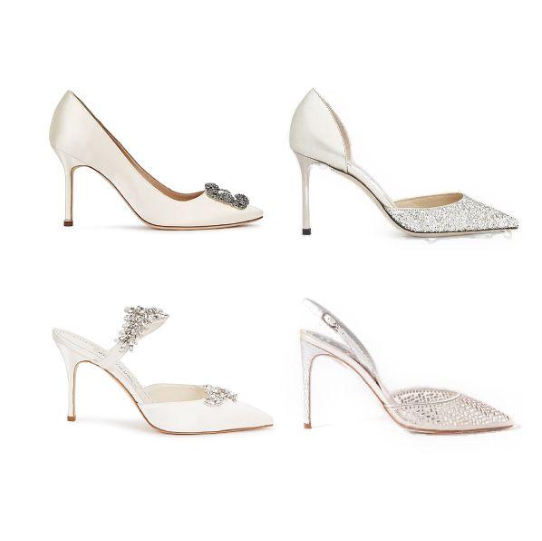 25款新娘必備婚鞋推薦!透明、水鑽、緞帶等絕美設計讓你成為最美的新娘