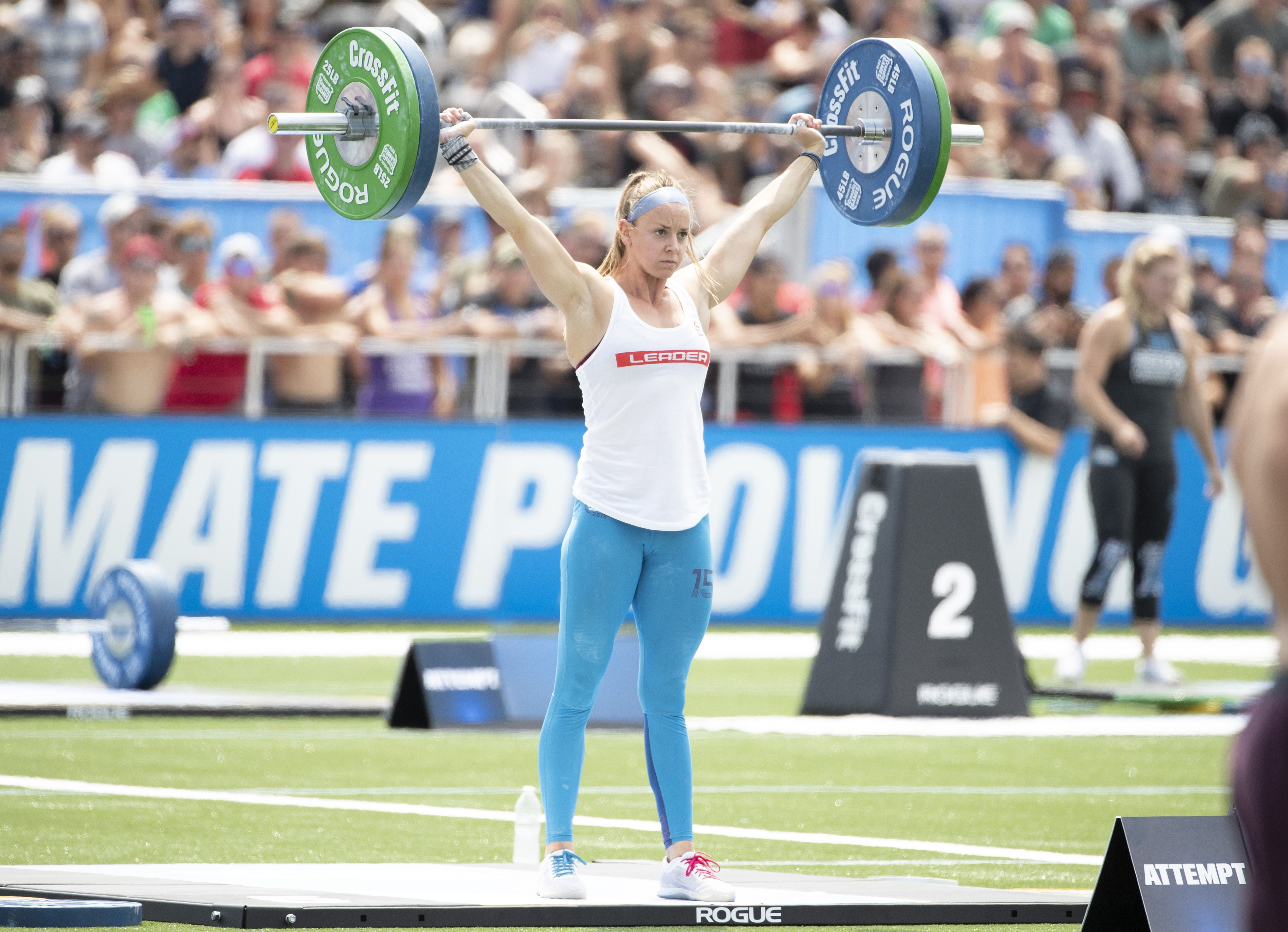 Crossfit Champ Lindy Barber Eats Two Breakfasts Every Day advise
