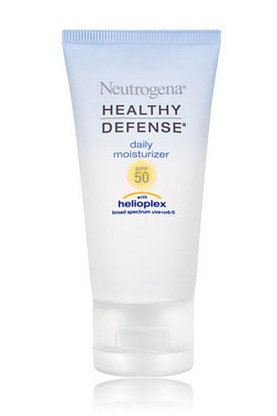 neutrogena healthy defense daily moisturizer with SPF 50