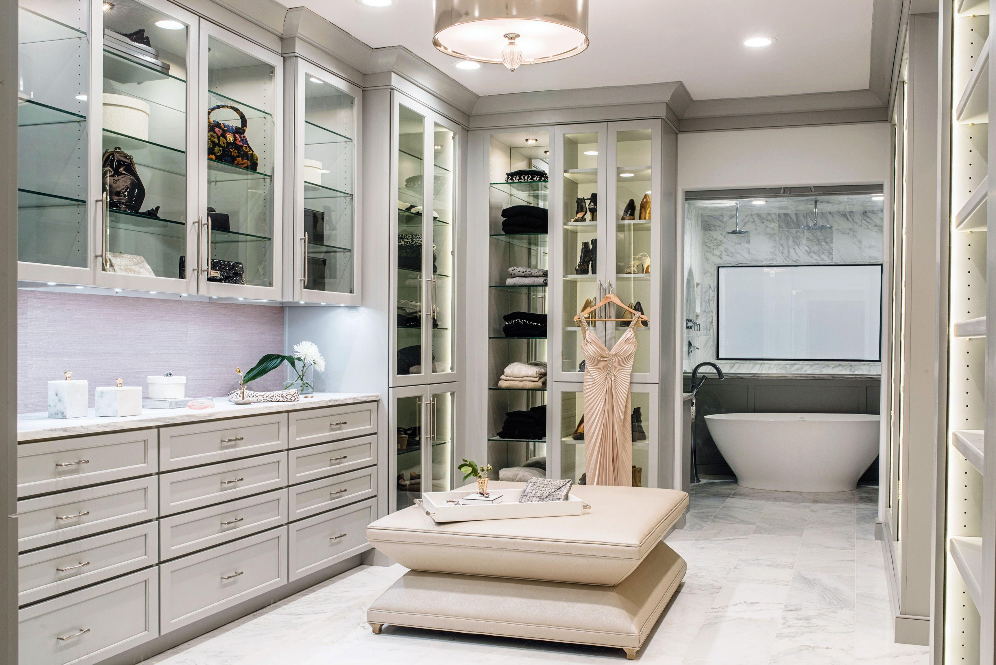 20 great walk in closet ideas stunning large custom closet designs rh elledecor com closet room design ikea closet dressing room design