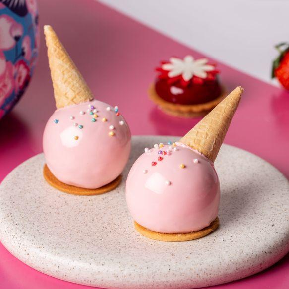 哈根達斯x萬豪酒店推出「沁漾冰甜」聯名下午茶!覆盆子、夏威夷果仁等人氣冰淇淋口味一次滿足