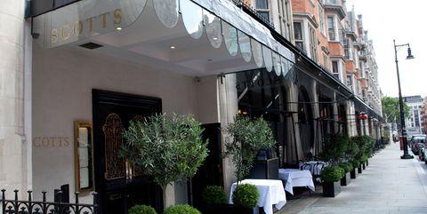 Scott's Restaurant, Mount Street, Mayfair, London