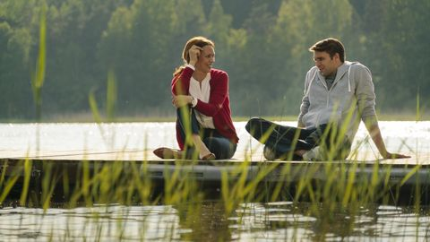 People in nature, Nature, Water, Leisure, Fun, Happy, Adaptation, Summer, Lake, Recreation,