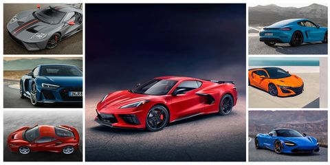 The 2020 Corvette Is at the Large and Heavy End of the Mid ...