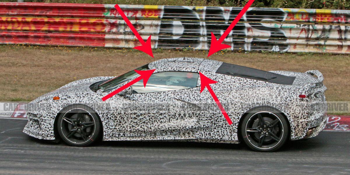 C8 Corvette Spy Pics Show Removable Roof
