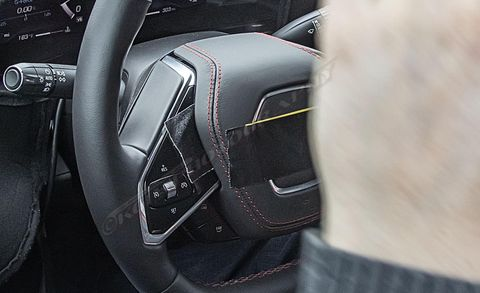2020 Chevy Mid-Engined Corvette Interior – Spy Photos