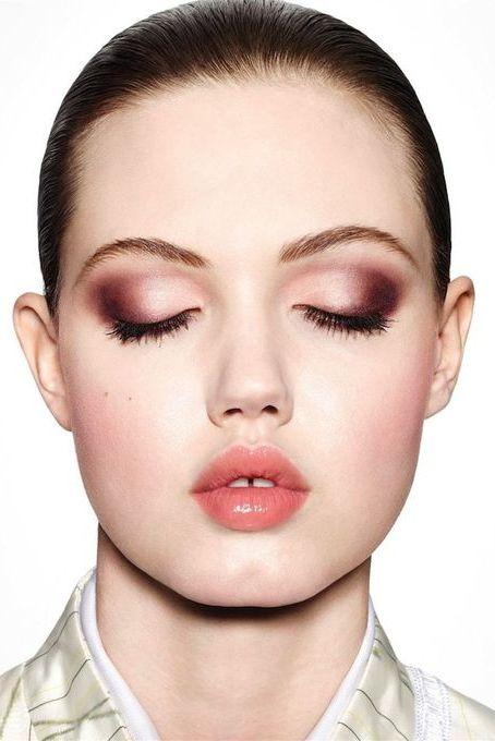 pinterest maquillaje burdeos