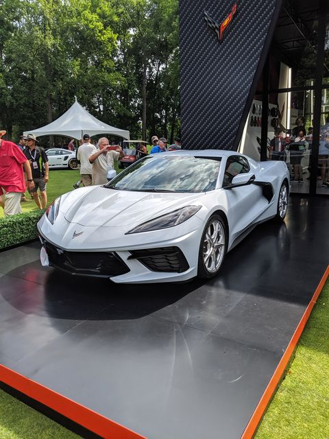 2020 Chevy Corvette C8 Drew Attention at the Concours of ...