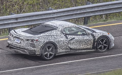 Mid Engined 2020 Chevrolet Corvette C8 See New Spy Photos