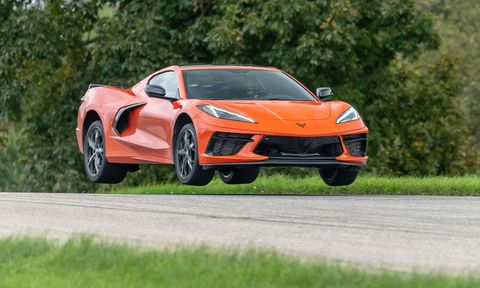 Watch 2020 Corvette Stingray Fly in Our First Track Test