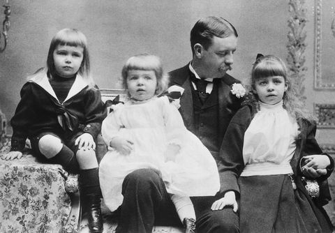 eleanor roosevelt with father and brothers