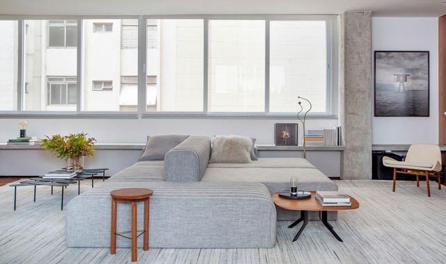 apartamento acogedor en brasil del estudio ab design