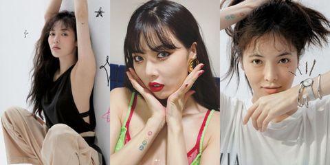 Hair, Face, Skin, Gravure idol, Beauty, Lip, Japanese idol, Black hair, Photography, Bangs,