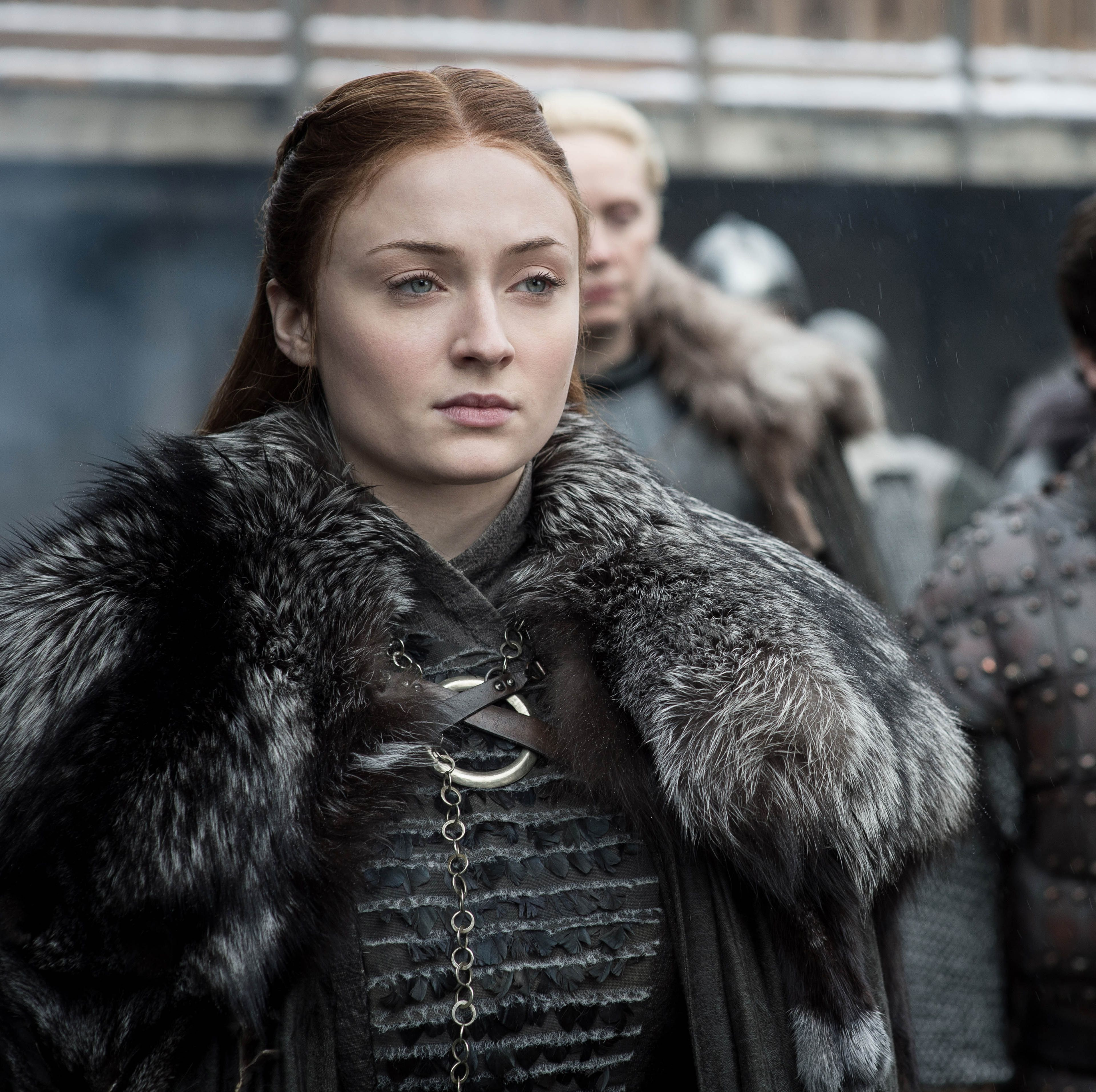 The Incredible Reason Sansa Wore Her Hair Down During the 'Game of Thrones' Finale