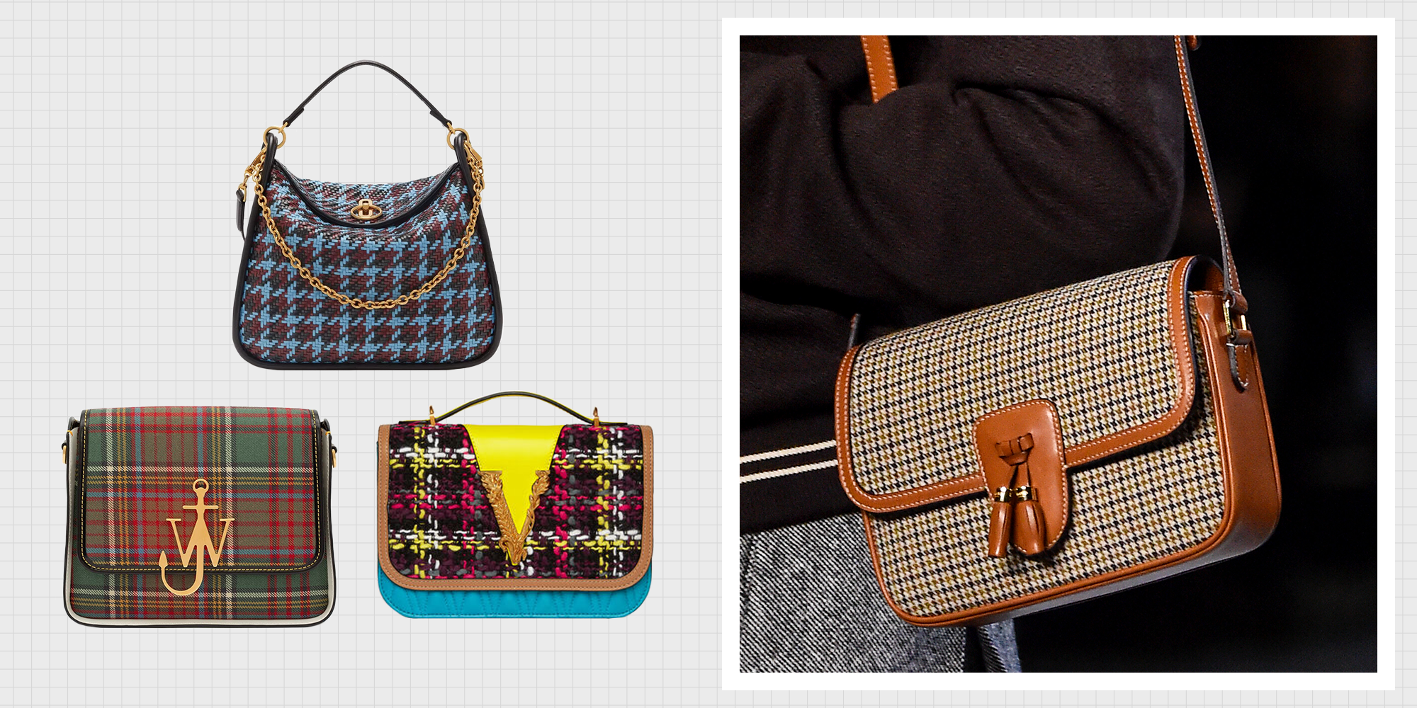 The Plaid Bags You Need For Fall