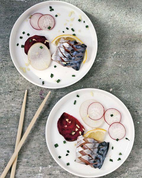 Platos saludables: Caballa marinada en limón
