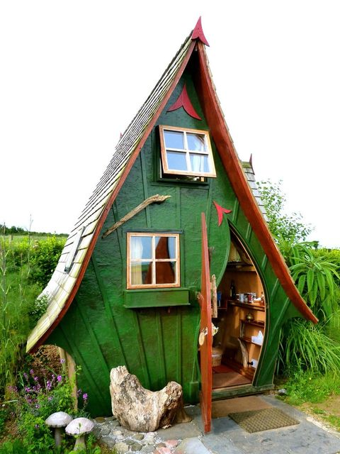 Cabaña de madera en Cornualles