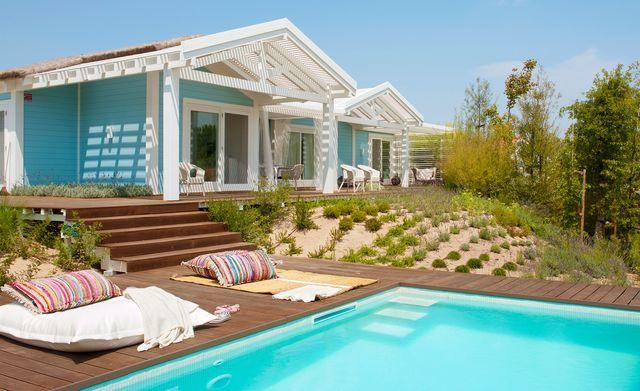 una casa sencilla y alegre en la playa de comporta