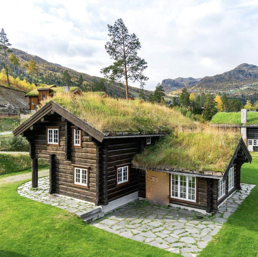 Cabaña de madera en Hemsedal, Noruega