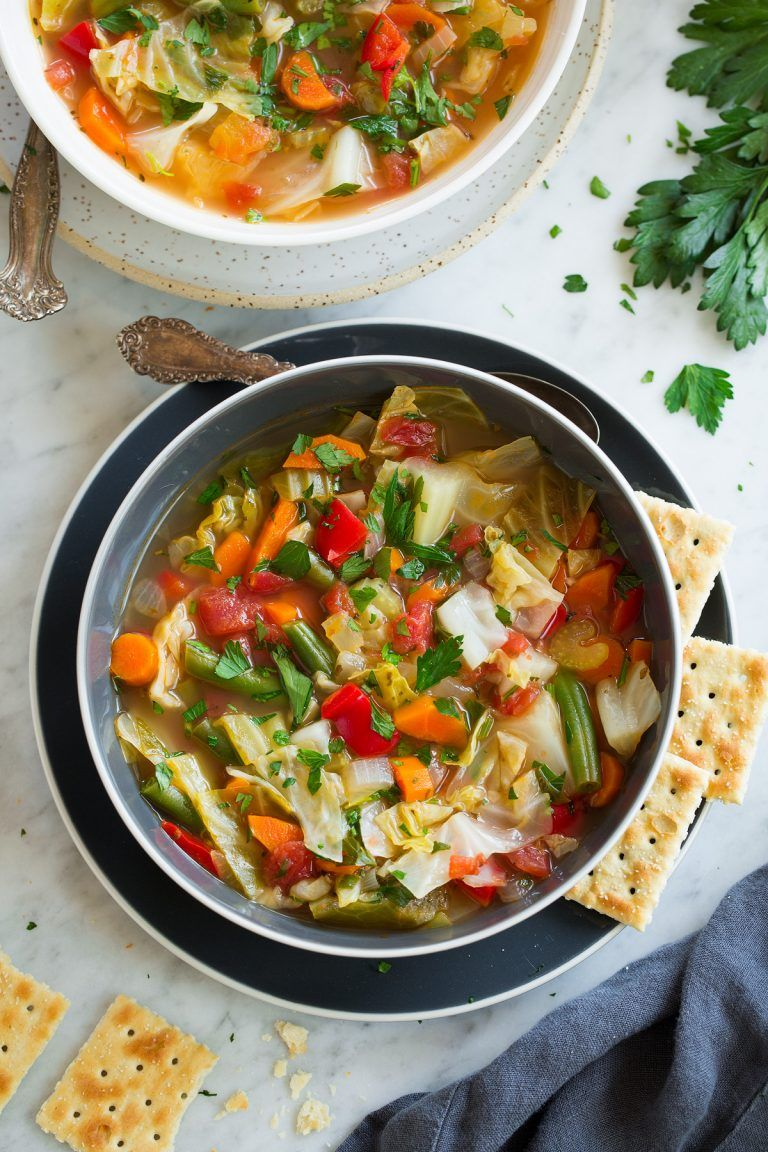 cabbage soup recipes easy