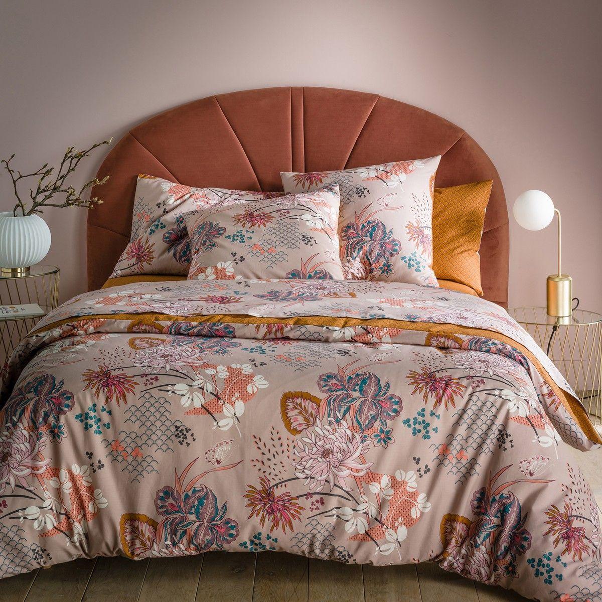 Cabecero de cama de terciopelo