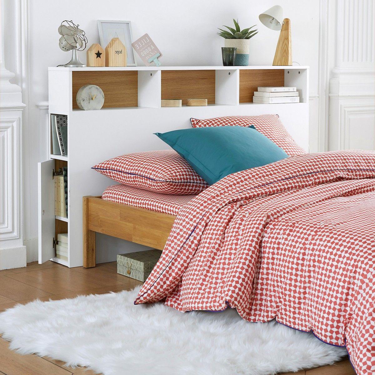 Cabecero de cama con organización