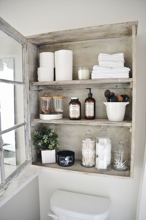 Cabinet Bathroom Shelf Ideas