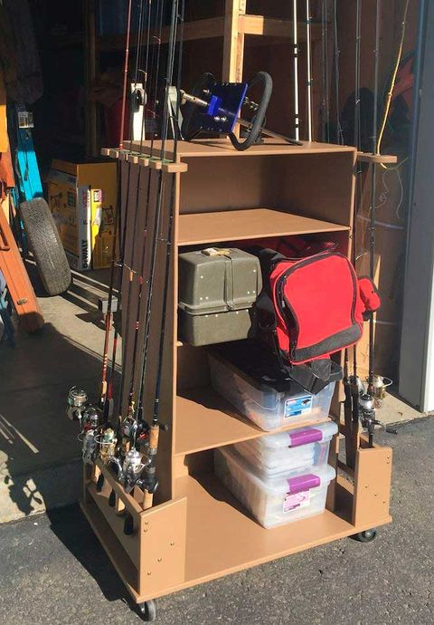 fishing tackle cabinet