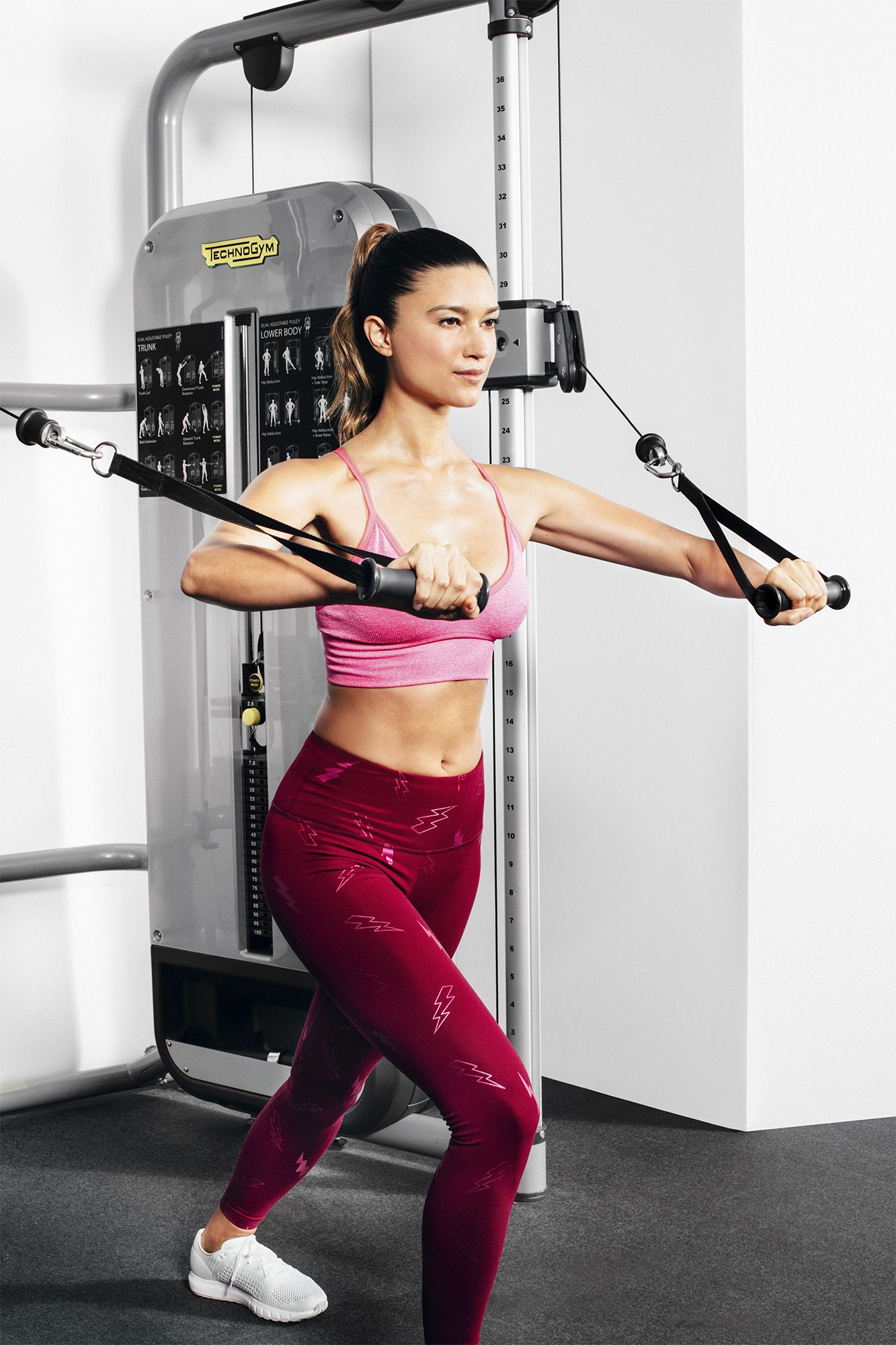 This 3-Move Cable Machine Workout Will Tone You All Over