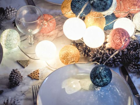 Christmas Table Centrepiece Ideas