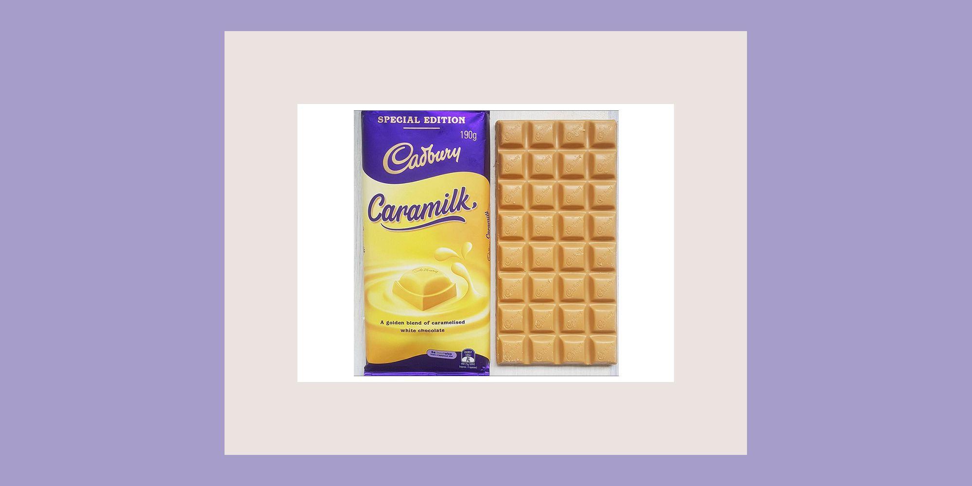 Cadbury's Caramilk has finally arrived in the UK