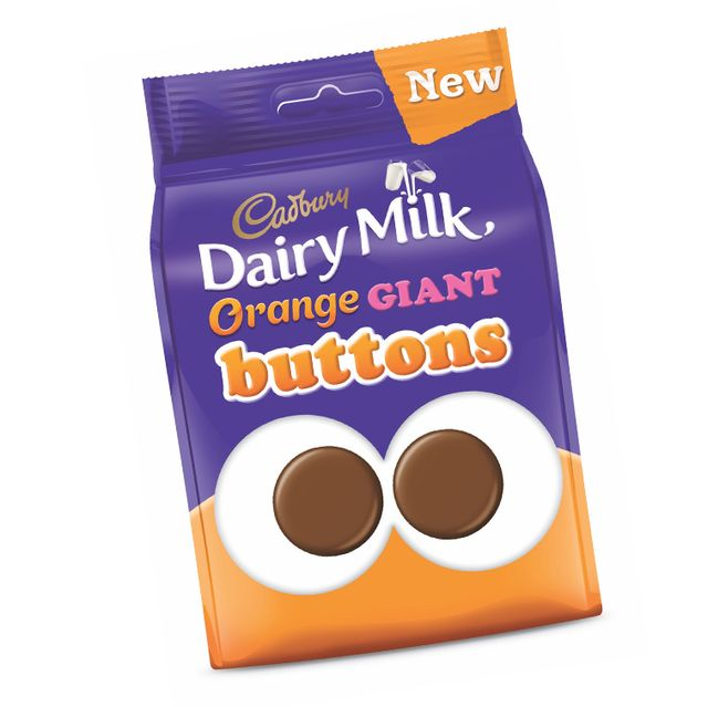 cadbury orange dairy milk giant buttons and fingers