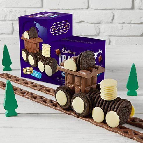 cadbury's chocolate and oreo train is the perfect gift
