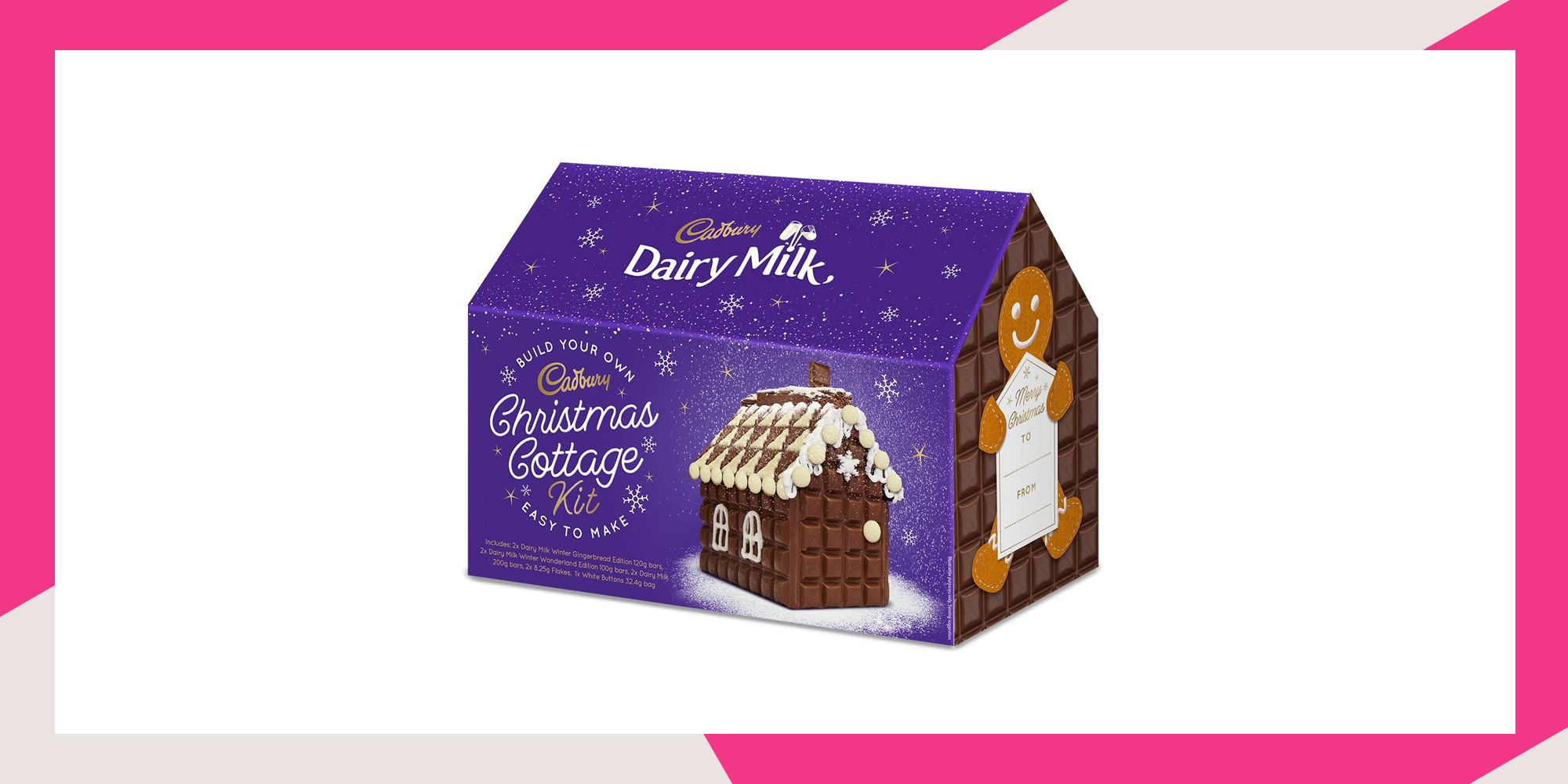 Cadbury Launches Chocolate Cottage Kit For Christmas