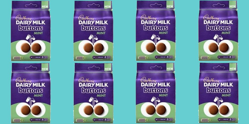 Cadbury Dairy Milk Mint Buttons Are The Chocolate Treat We've All Been Waiting For